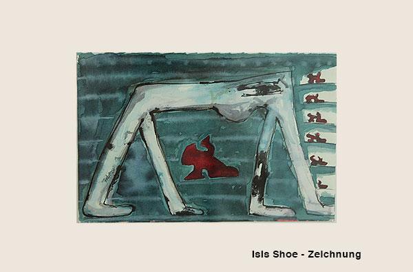 Isis Shoe - Zeichnung