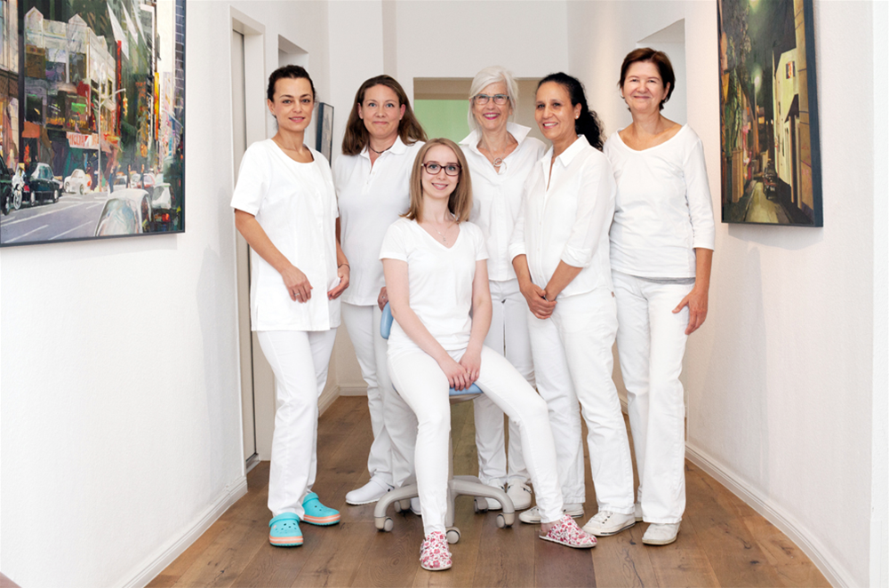 Team der Zahnarztpraxis Susanne Spilker in Berlin